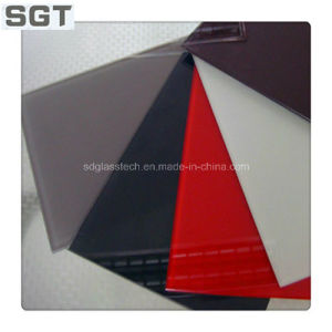 6mm Clear Tempered Lacquered/Painted Glass for Splashbacks pictures & photos