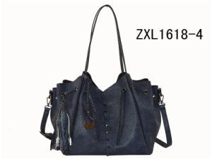OEM Logo Customized European Lady PU Handbag (ZXL1618-4) pictures & photos