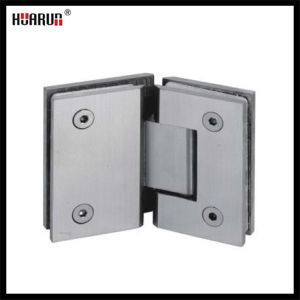 Stainless Steel/Brass/Zinc Alloy Glass to Glass Shower Hinge (HR1500G-2) pictures & photos