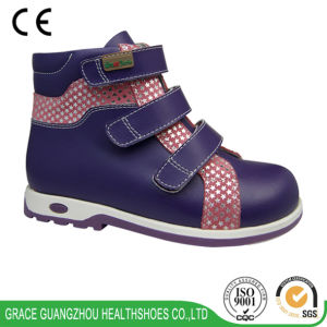 Grace Ortho Children Orthopedic Shoes with Star Sequins Upper pictures & photos