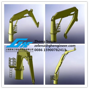 Immediately Available of ABS Certificate Knuckle Boom Crane pictures & photos