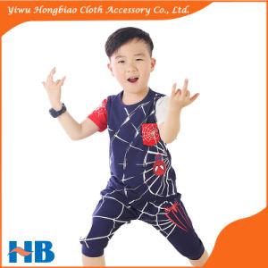 O-Neck Short Sleeve Spider T Shirt Children Clothing