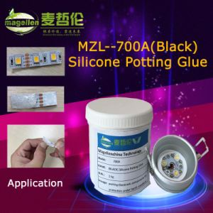 Jxh-700A (BLACK) Silicone Potting Glue pictures & photos