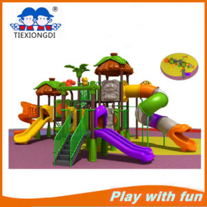 Ce Approved Big Backyard Playsets Kids Play Structure with Plastic Slides pictures & photos