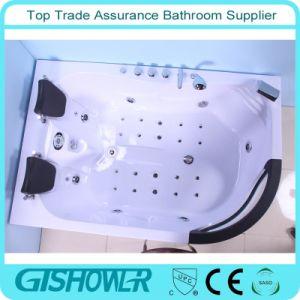 Cheap Two Person Colored Bubble Bath Tub (KF-634L) pictures & photos