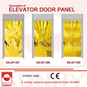St. St Golden Door Panel for Elevator Cabin Decoration (SN-DP-397) pictures & photos