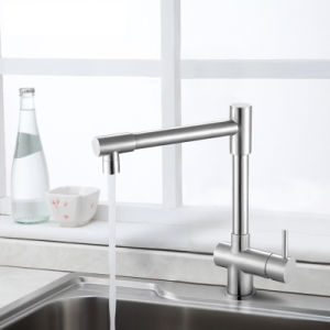 CSA Approval 360 Degree Stainless Steel Kitchen Water Faucet pictures & photos