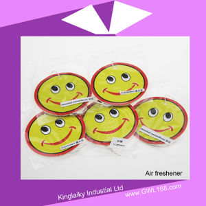 Customized Sweet Smell Smile Round Air Freshener (AF001) pictures & photos