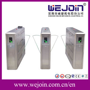 Vertical Type Turnstile Electric Turnstile Counter Turnstile Full Automatic Turnstile Pedestrian Turnstile pictures & photos