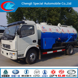5cbm 4*2 Sewage Suction Truck Combined High Pressure Jetting and Vacuum Truck pictures & photos