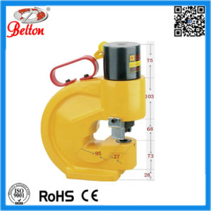 Most Popular Split-Unit Steel Plate Manual Hydraulic Hole Puncher Be-CH-60 pictures & photos