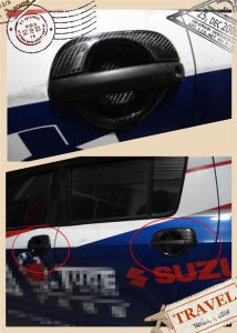 Carbon Fiber Handle Covers for Suzuki Swift 2005-2008 pictures & photos