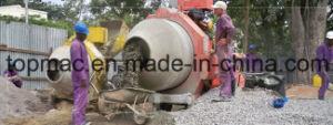 China 800L Diesel 4 Wheels Concrete Mixer pictures & photos