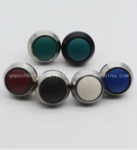 Qn12-A5 Screw Pin Momentary 2pin Stainless Steel Pushbuttons pictures & photos