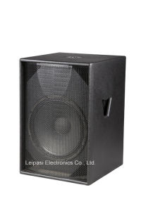 Single 15 Inch Subwoofer Professional Loudspeaker pictures & photos