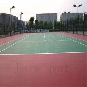 High Cushion Outdoor Badminton Court Spu Court pictures & photos