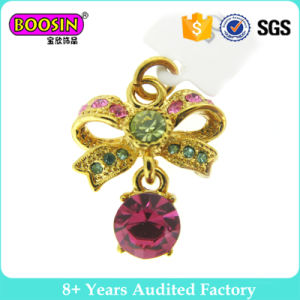 Fashionable Gold Plated Crystal Pendant Charms for Necklace pictures & photos