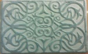 Modern Anti-Slip Soft Microfiber Memory Foam Bath Mat (B2229)