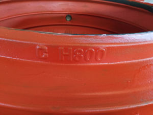 Pipe Repair Clamp H800, Pipe Repair Coupling, Pipe Repair Sleeve for Cast Iron Pipe and Ductile Iron Pipe, Leak Pipe Quick Repair pictures & photos