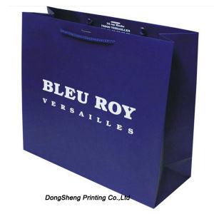 Noble Design of Paper Gift Shopping Bag for Garment