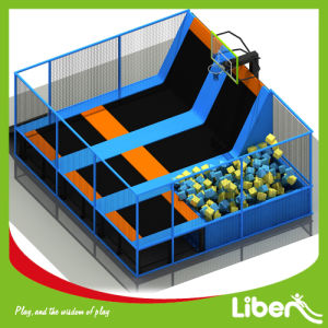According to Your Room Size Sky Zone Commercial Kids and Adult Indoor Trampoline Park pictures & photos