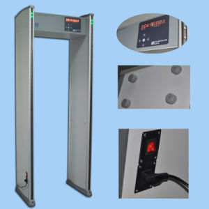 Archway Walk Through Metal Detector, Alarm Door (XLD-A LED) pictures & photos