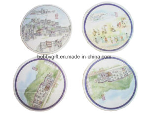 Eco-Friendly Paper Cup Mat Coaster for Advertising Gifts pictures & photos