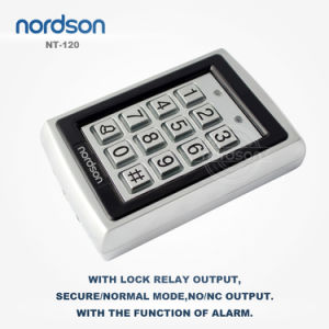 Top Sale Waterproof Metal Standalone RFID Card Access Control System with Luminous and Access Keypad pictures & photos