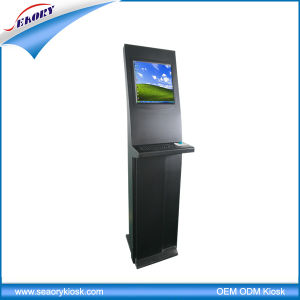 19 Inch LCD Touch Screen Kiosk, Bill Payment Kiosk, Payment Terminal with Metal Keyboard pictures & photos