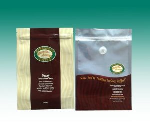 Stand up Coffee Pouches/Resealable Zipper Pouch /Ziplock Coffee Pouch/Coffee Bean Packaging Bag