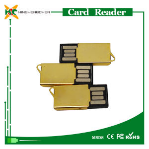 2016 Super Mini Golden SD Card Reader pictures & photos