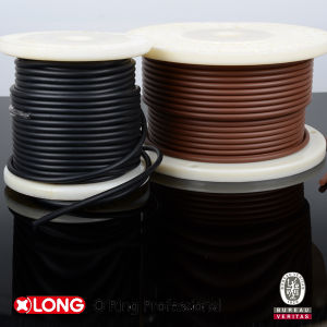 Ts16949 FKM Brown Rubber Strips for Static Seal pictures & photos