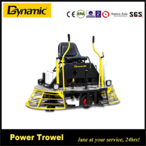 Dynamic Machine Ride-on Power Trowel (QUM-78) pictures & photos
