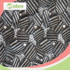 Heavy African Lace Fabrics 100 Polyester Chemical Guipure Lace Fabric pictures & photos