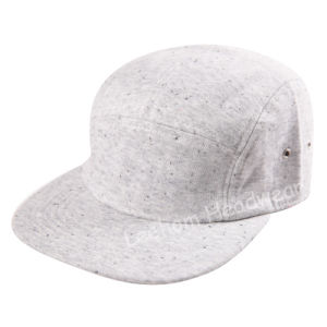 New Camper Style Snapback Jersey Flat Brim Promotional Cap pictures & photos