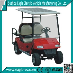 Solar Electric Car, 48V 4kw, Plastic Body, with Foldable Windshield, Drum Brake, 10inch Wheel with Aluminum Rim pictures & photos