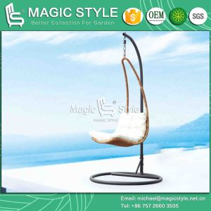 Simple Patio Wicker Swing Garden Rattan Hammock (Magic Style) pictures & photos