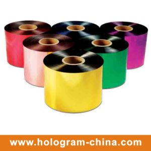 Colorful Tamper Evident Hard Embossing Film pictures & photos