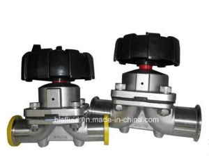 Food Grade Stainless Steel Sanitary Diaphragm Valve pictures & photos