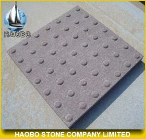 Cheap Grey Granite Tactile DOT Paving Stone pictures & photos