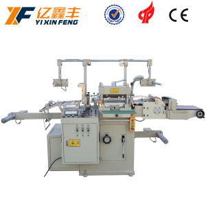 Tempered Glass Screen Protector Label Die Cutting Machine