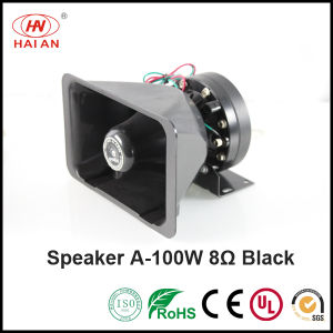 Police Siren Horn Speaker 100W Alarm Car Hooter Speaker Police Car Speaker/Emergency Warning with Speaker pictures & photos