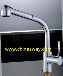 Sink Faucet with Movable and Retractable Spout (SW-0914) pictures & photos