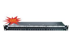 Cat6 Shielded Patch Panel (NSP-1054-24U)