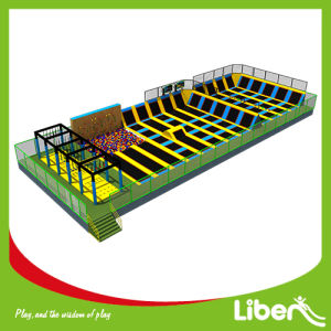 Factory Price Kids Indoor Commercial Free Jumping Rectangular Trampoline Park pictures & photos