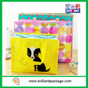 Promotional PP Woven Laminated Shopping Bag Tote Handle Bag pictures & photos