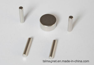 Sintered Permanent Rare Earth Cylinder NdFeB Magnets for Industrial pictures & photos