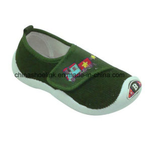China Fashion Child Casual Injection Canvas Shoes Supplier pictures & photos