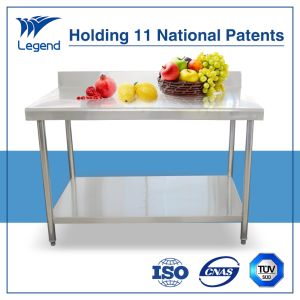 Hot Selling Stainless Steel Prep Table with 3 Years′ Guarantee pictures & photos
