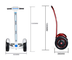 off Road Self Balancing Electric Scooter with Two Wheels pictures & photos